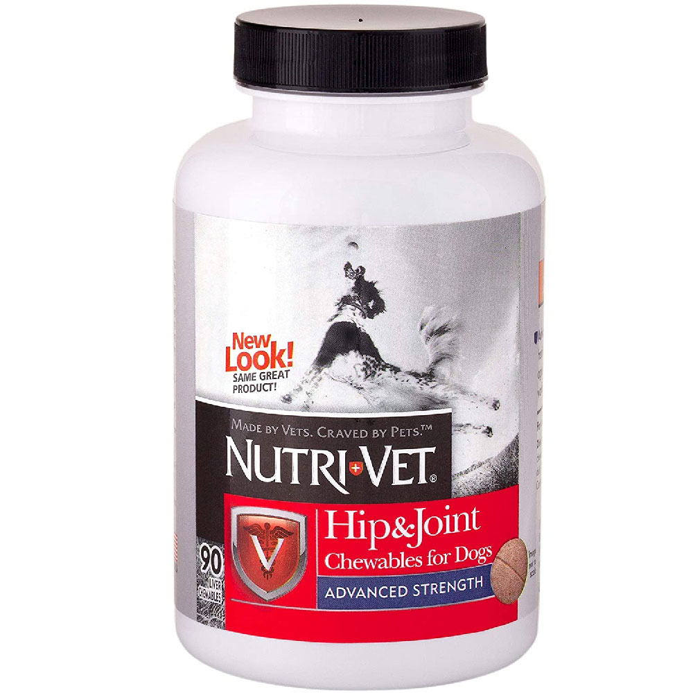 Nutri-Vet Hip & Joint Advanced Strength for Dogs (90 Chewables)
