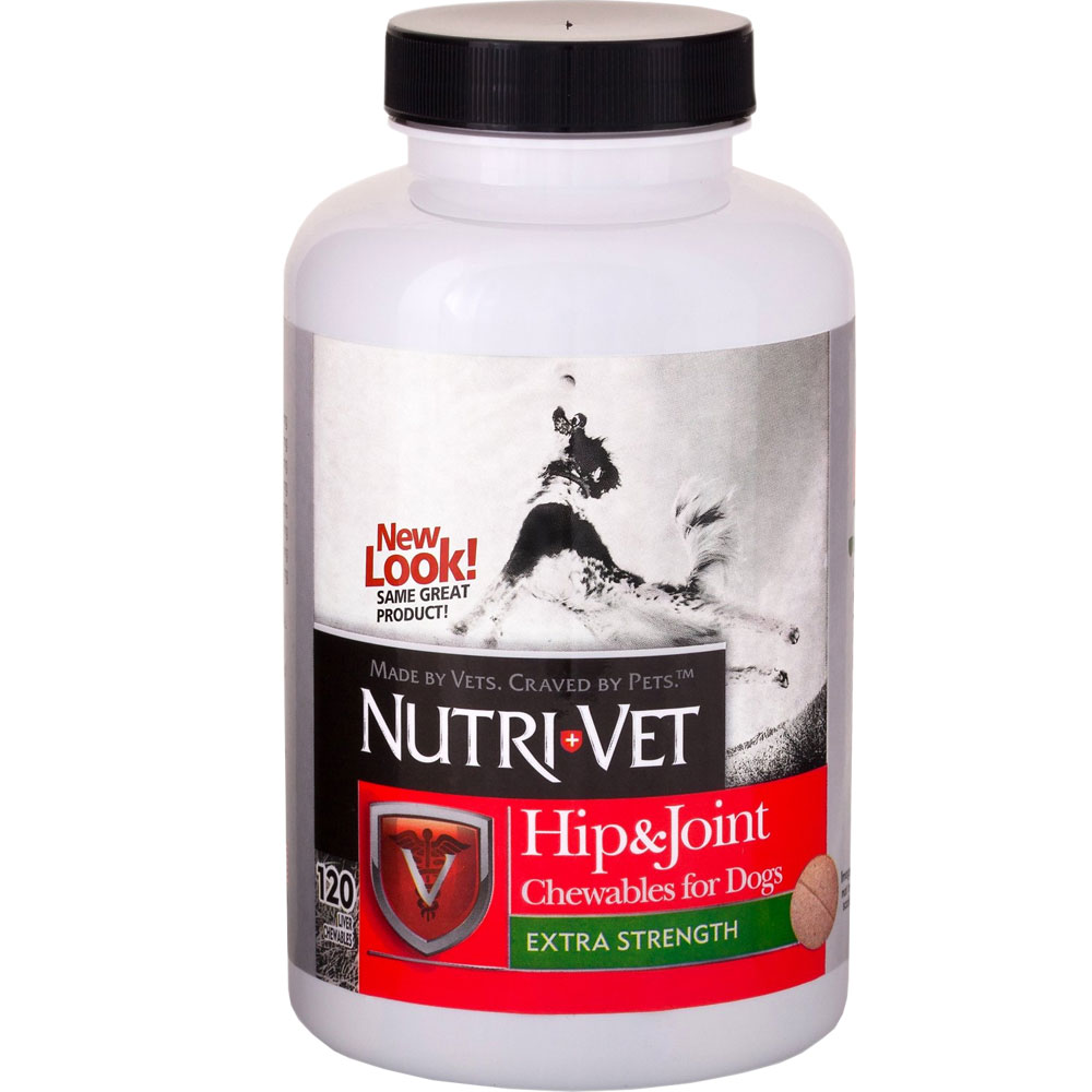 Nutri-Vet Hip & Joint Plus ES for Dogs (120 Chewables) im test
