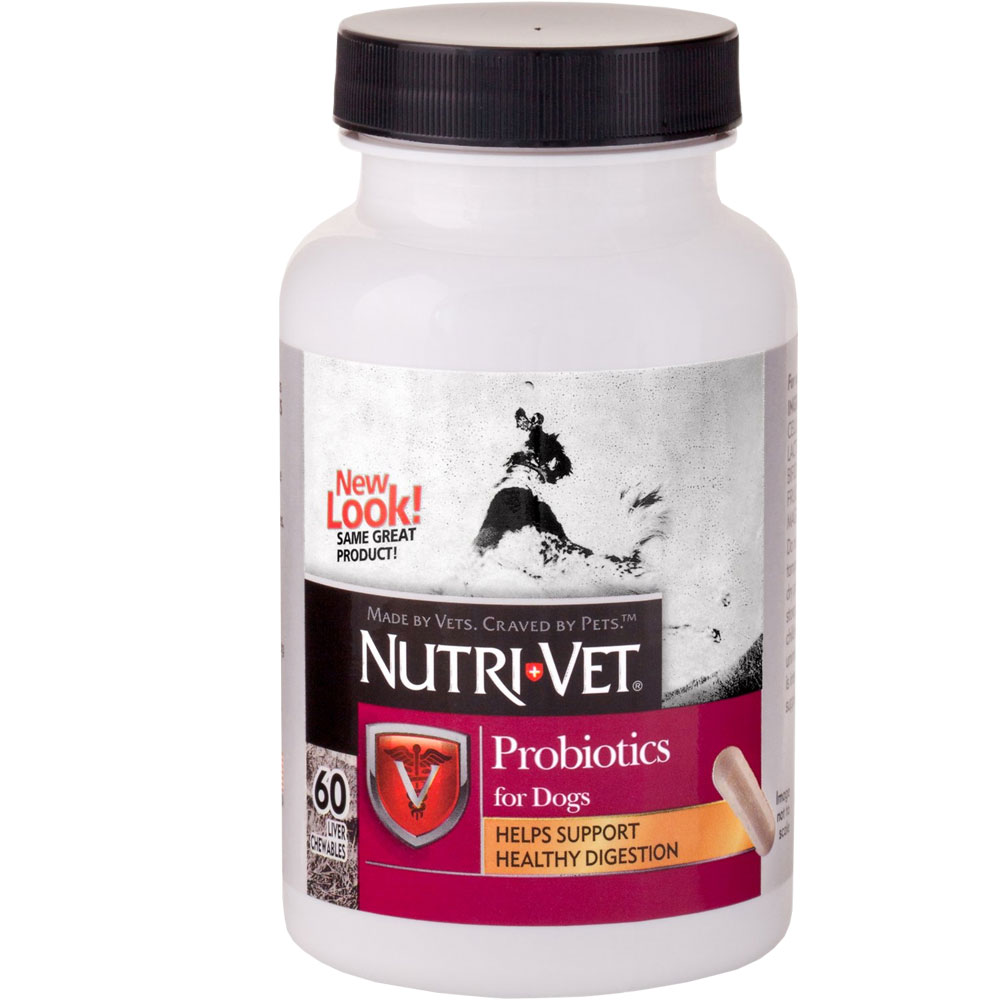 Nutri-Vet Probiotics for Dogs (60 Capsules) im test