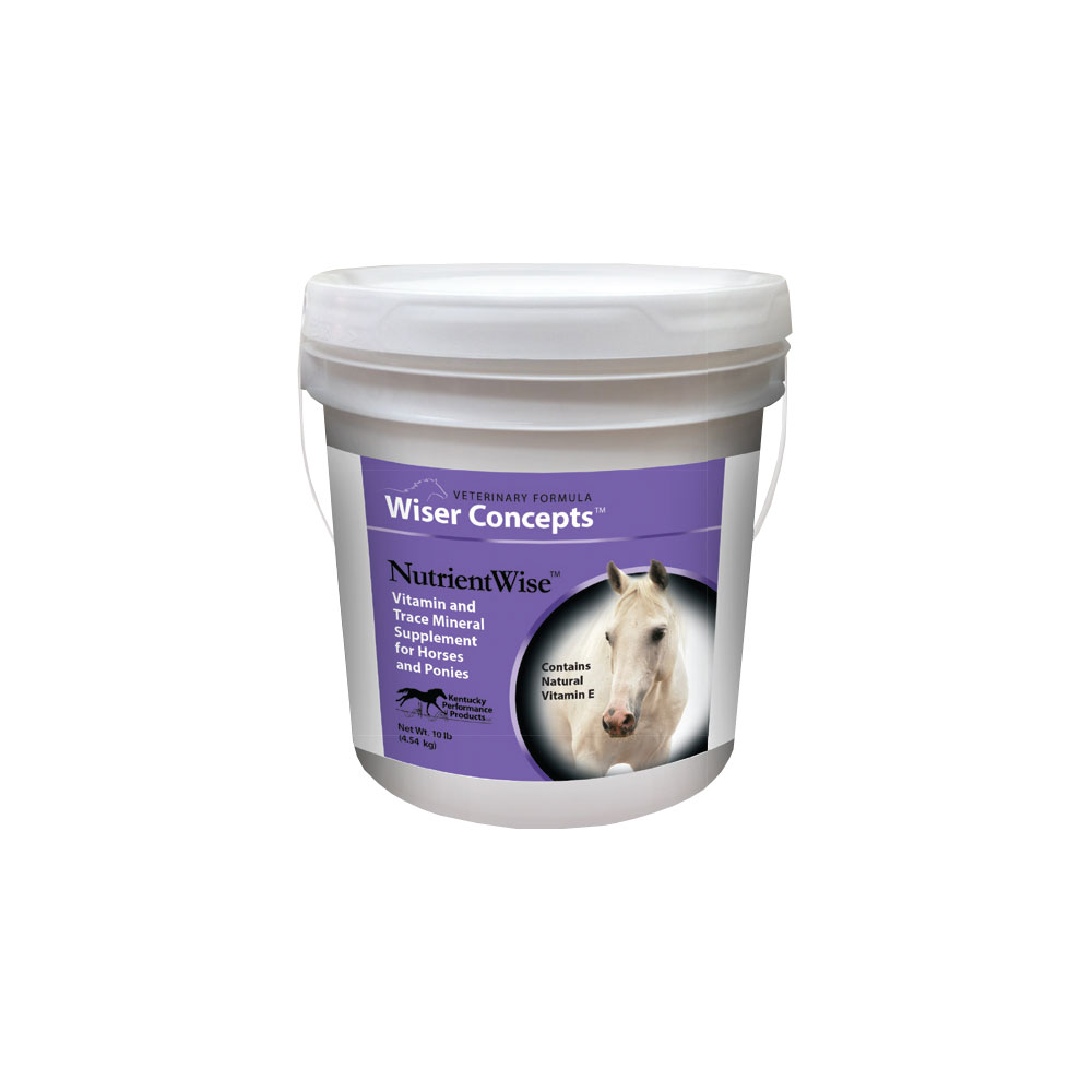 NutrientWise Vitamin & Trace Mineral Supplement for Horses (20 lb) im test
