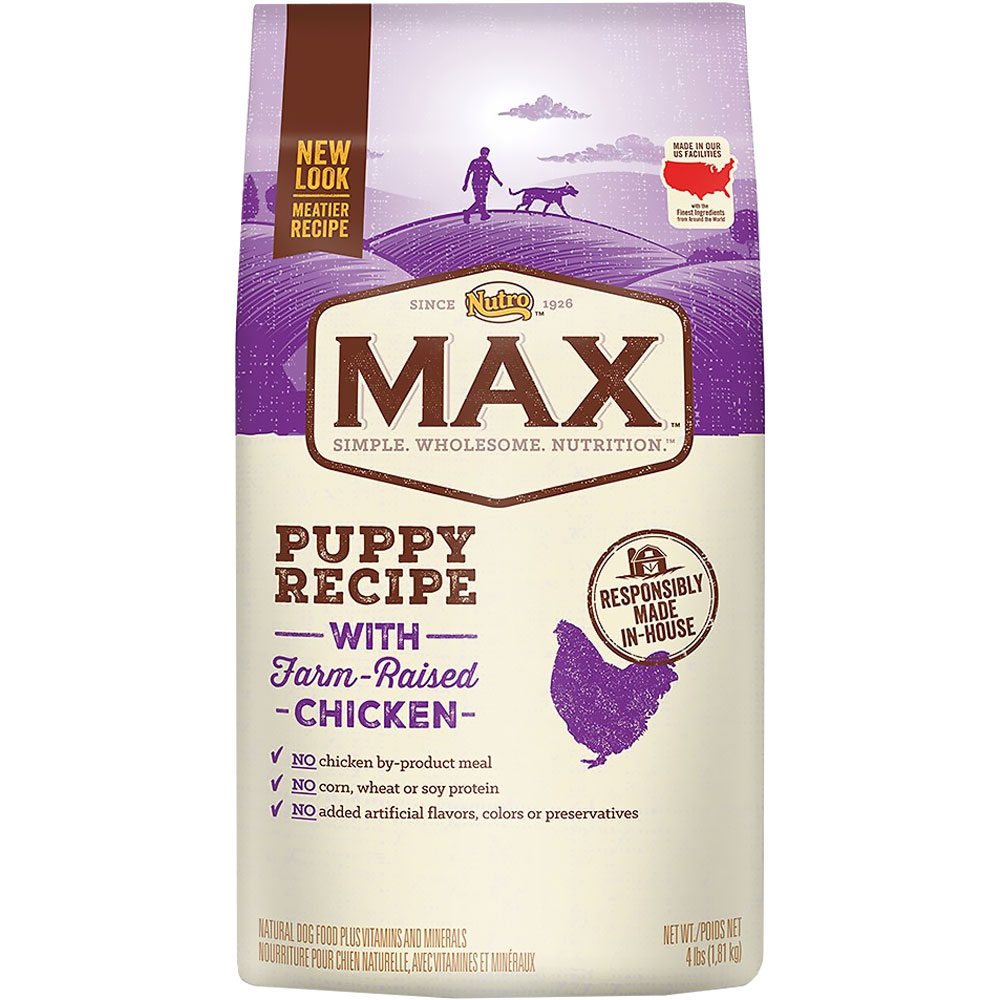 Nutro Max Puppy - Chicken (4 lb) im test