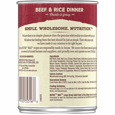 NUTRO-MAX-LARGE-BREED-BEEF-RICE-12X12-5OZ