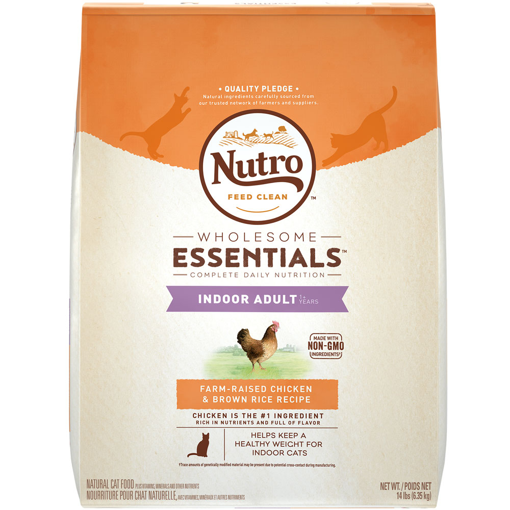 Nutro Wholesome Essentials Chicken & Brown Rice - Indoor Adult Cat (14 lb) im test