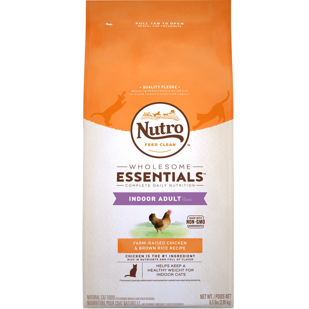Nutro Wholesome Essentials Chicken & Brown Rice - Indoor Adult Cat (6.5 lb) im test