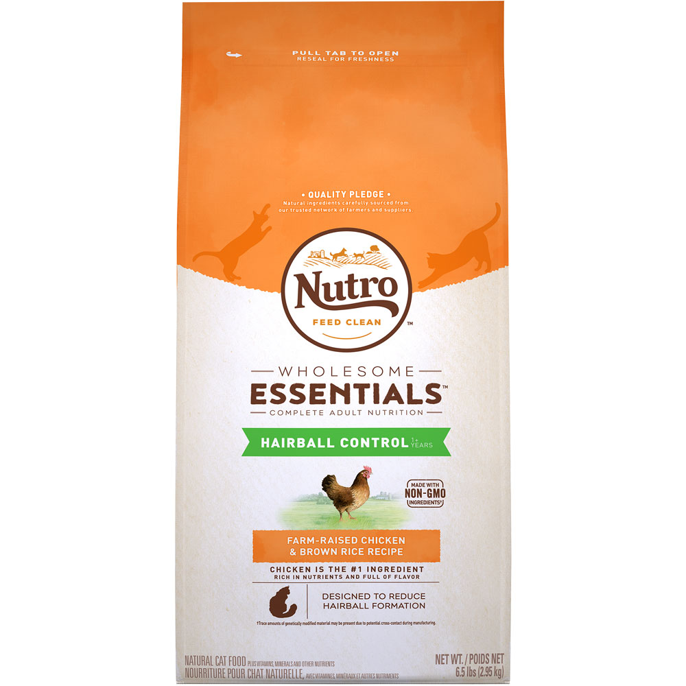 Nutro Wholesome Essentials Hairball Control Chicken & Brown Rice - Adult Cat (6.5 lb) im test