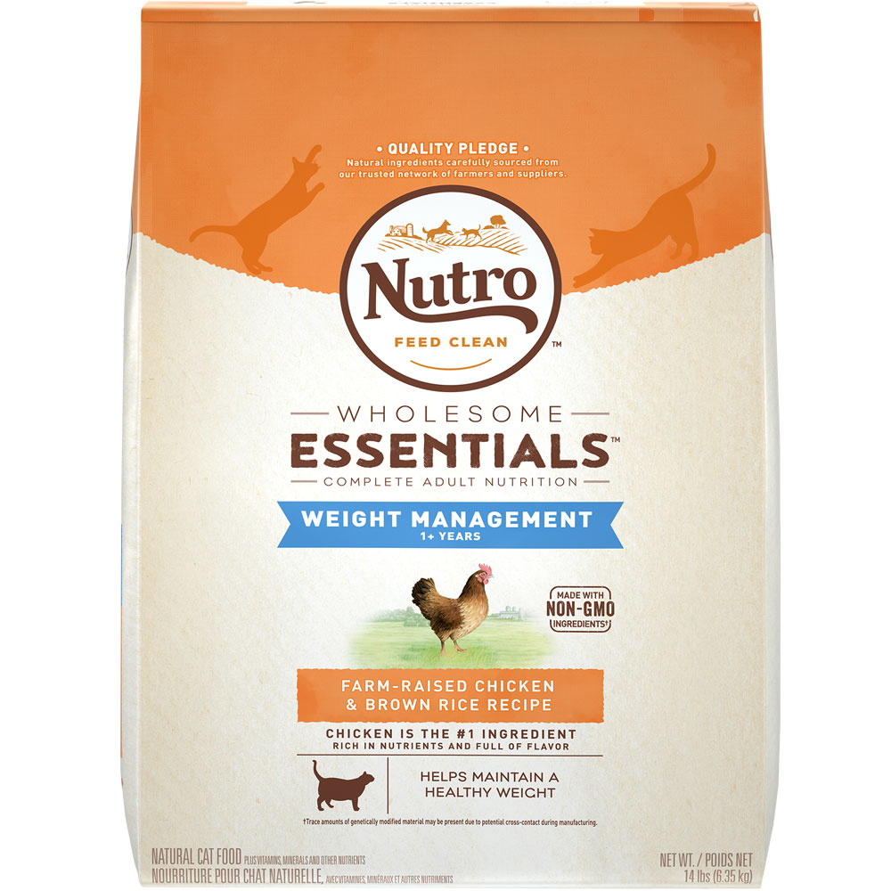 Nutro Wholesome Essentials Weight Loss Chicken & Brown Rice - Adult Cat (14 lb) im test