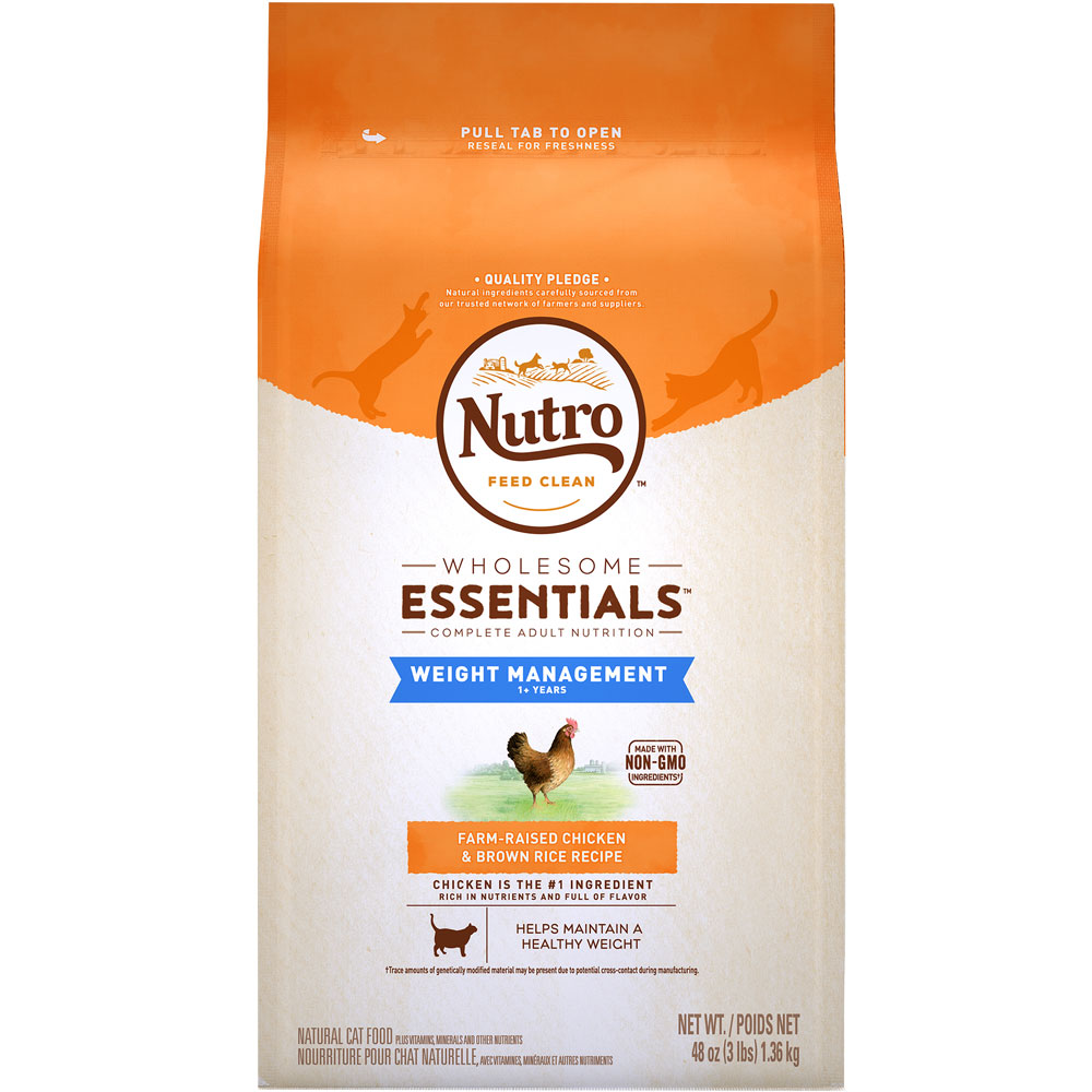 Nutro Wholesome Essentials Weight Loss Chicken & Brown Rice - Adult Cat (3 lb) im test