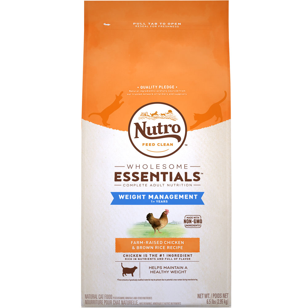 Nutro Wholesome Essentials Weight Loss Chicken & Brown Rice - Adult Cat (6.5 lb) im test
