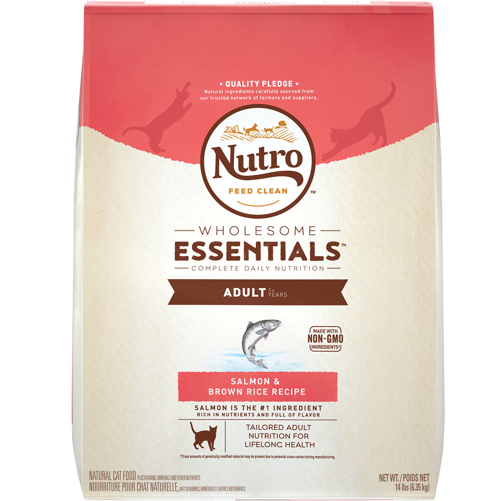 Nutro Wholesome Essentials Salmon & Brown Rice - Adult Cat (14 lb) im test