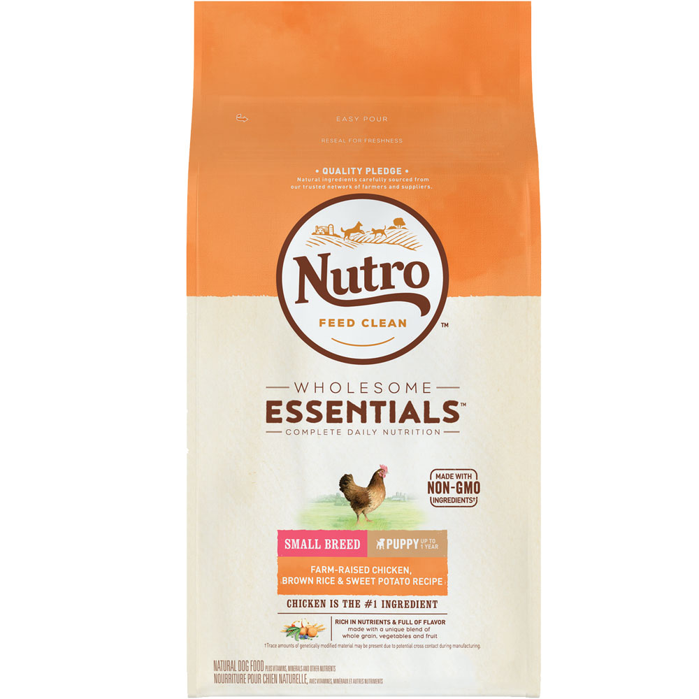Nutro Wholesome Essentials Small Breed Puppy Chicken, Brown Rice & Sweet Potato (4 lb) im test