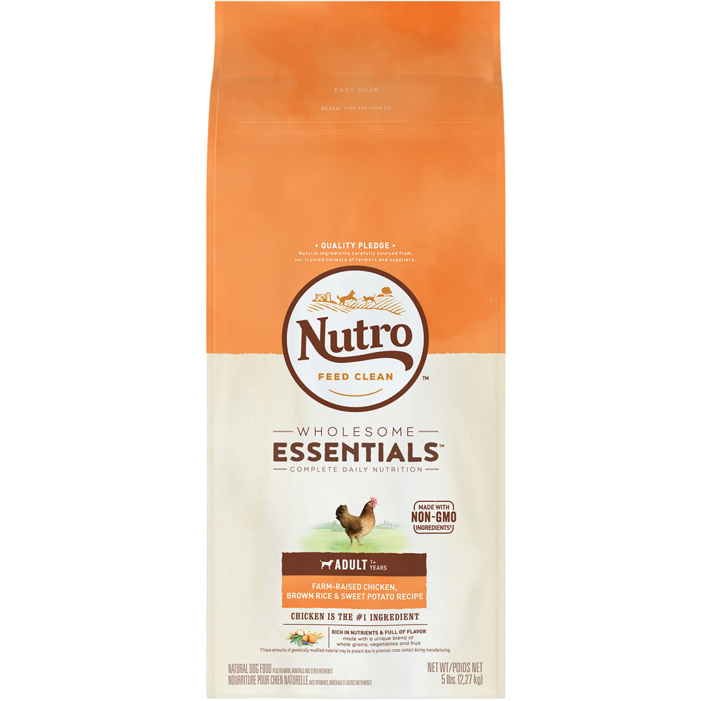 Nutro Wholesome Essentials Adult Chicken, Brown Rice & Sweet Potato Recipe (5 lb) im test