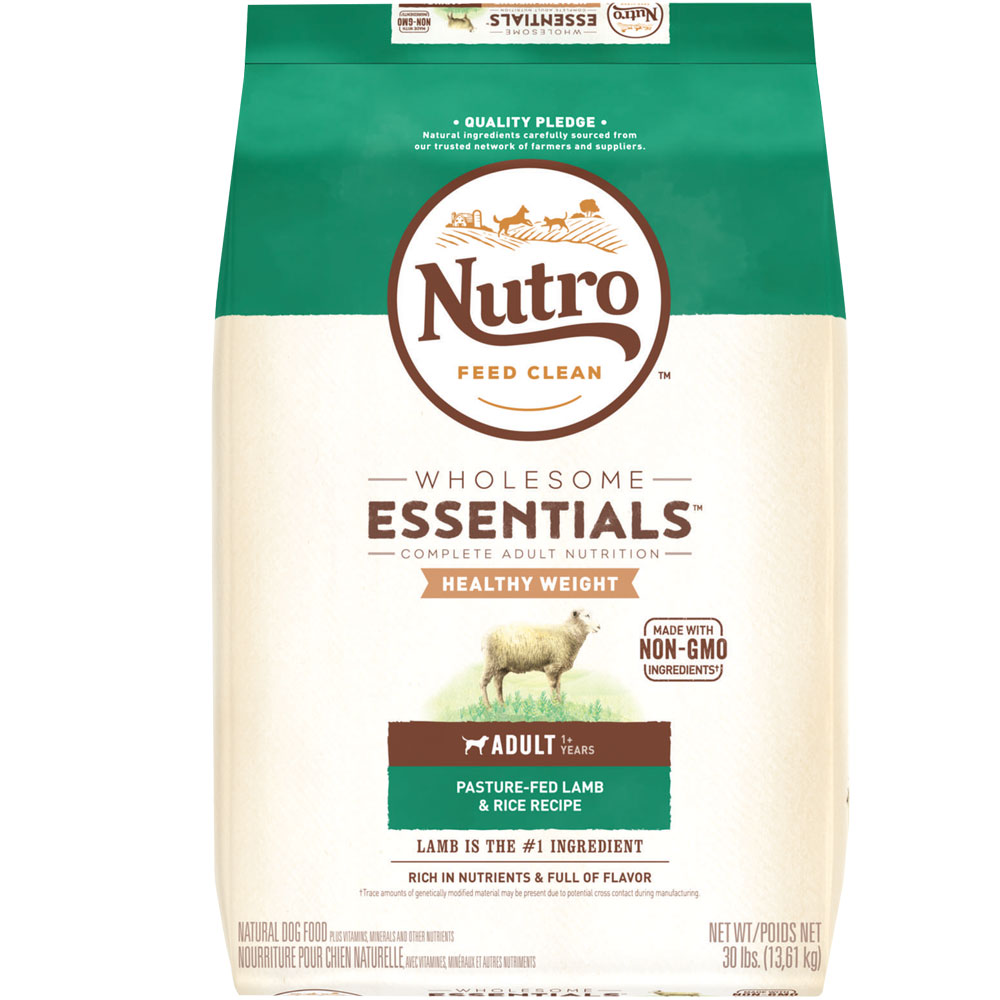 Nutro Wholesome Essentials Healthy Weight Lamb & Rice - Adult Dog (30 lb)