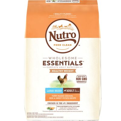 Nutro Wholesome Essentials Large Breed Healthy Weight Chicken, Rice & Sweet Potato - Adult Dog (15 lb)