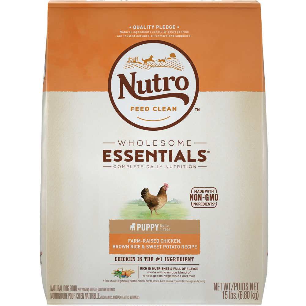 Nutro Wholesome Essentials Puppy Chicken, Brown Rice & Sweet Potato Recipe (15 lb) im test