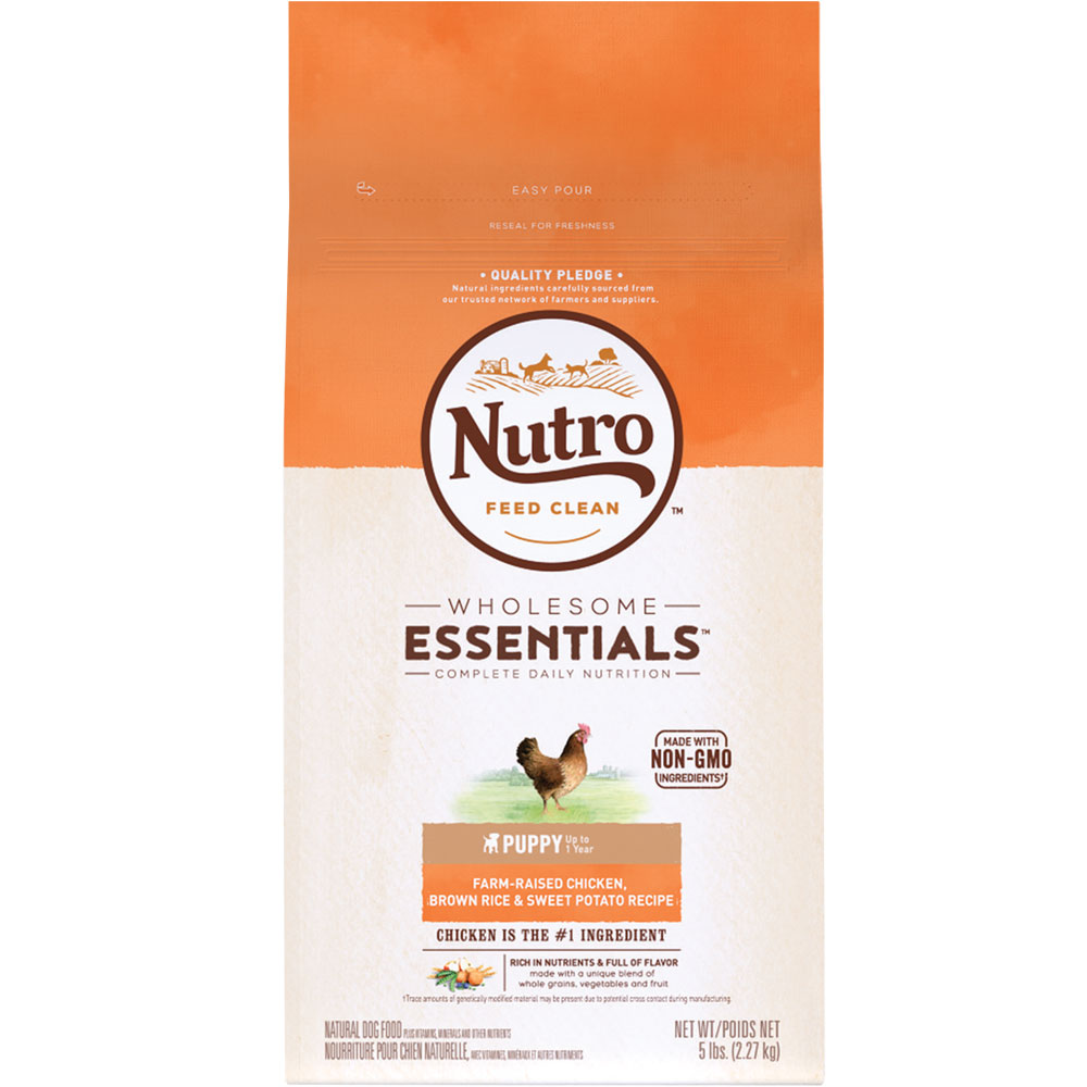 Nutro Wholesome Essentials Puppy Chicken, Brown Rice & Sweet Potato Recipe (5 lb) im test