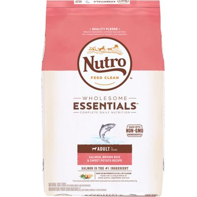 Nutro Wholesome Essentials Salmon, Brown Rice & Sweet Potato - Adult Dog (15 lb)