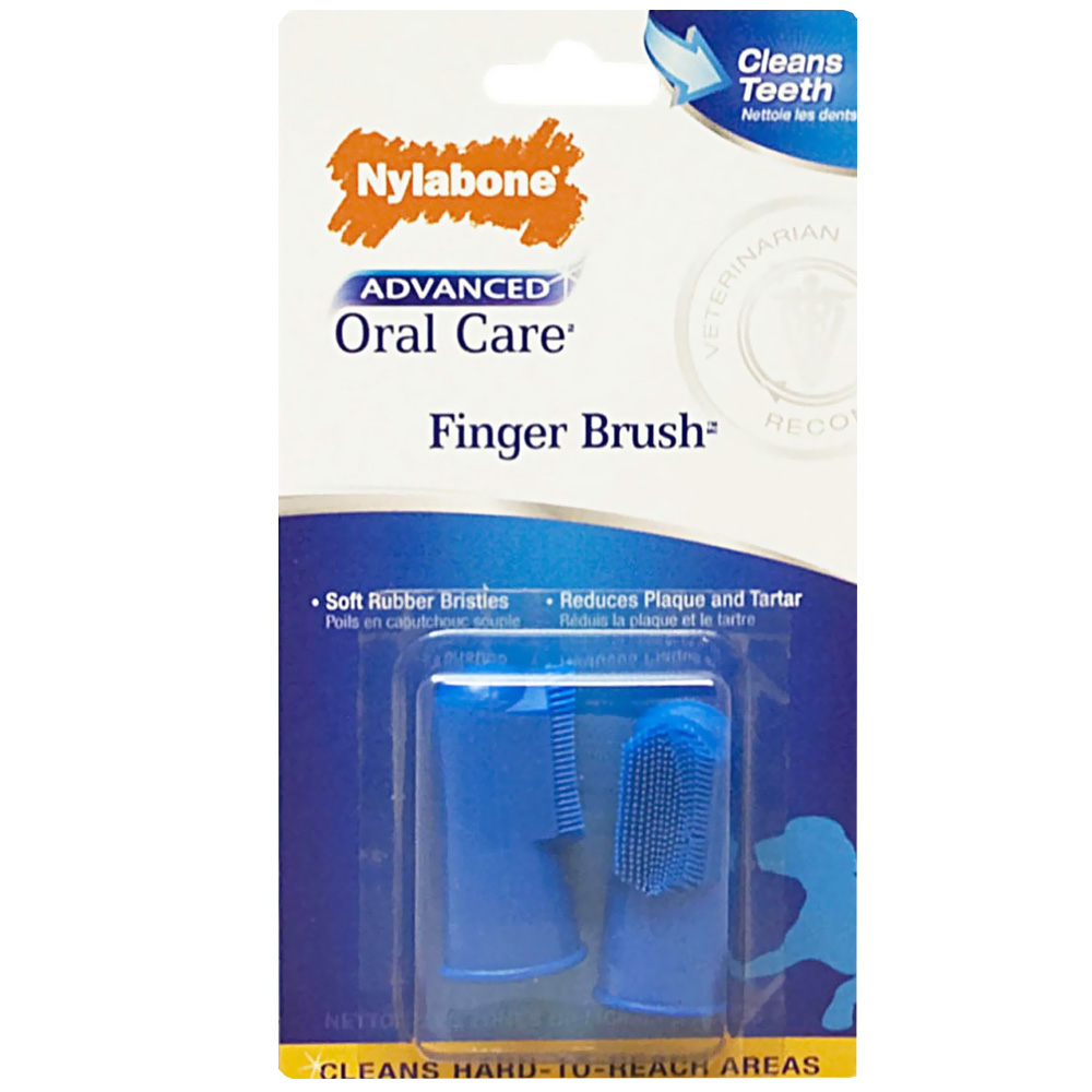 Nylabone Advanced Oral Care Finger Brush (2 Pack) im test