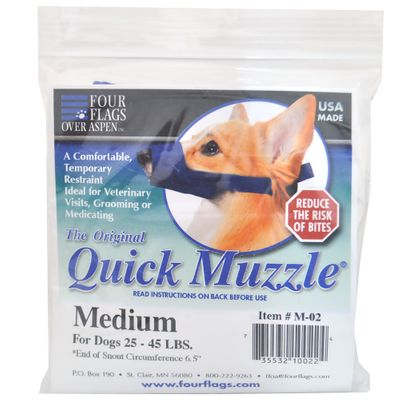 Nylon Quick Muzzle The Original for Dogs - Medium from EntirelyPets