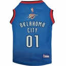 Oklahoma City Thunder Dog Jerseys