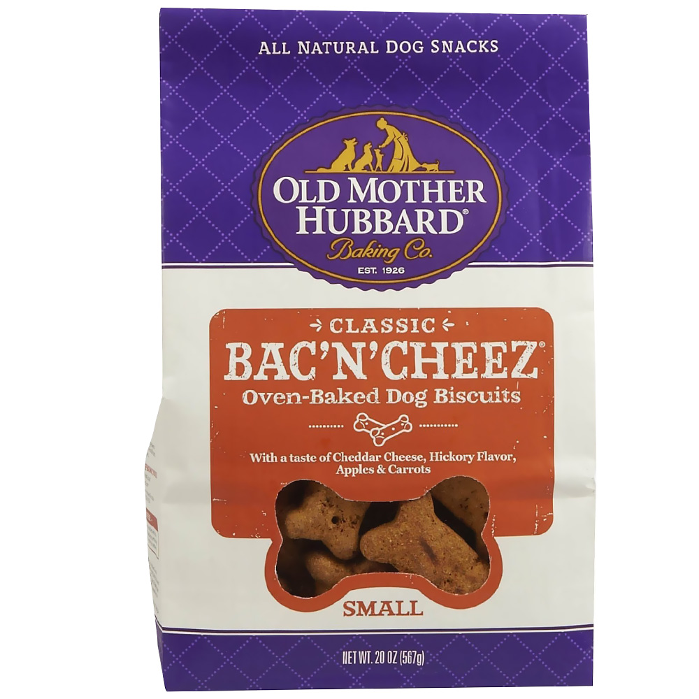 Old Mother Hubbard Bac'n'Cheez Biscuits - Small (20 oz) im test