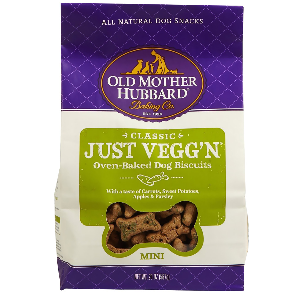 Old Mother Hubbard Just Vegg'n Biscuits - Mini (20 oz) im test