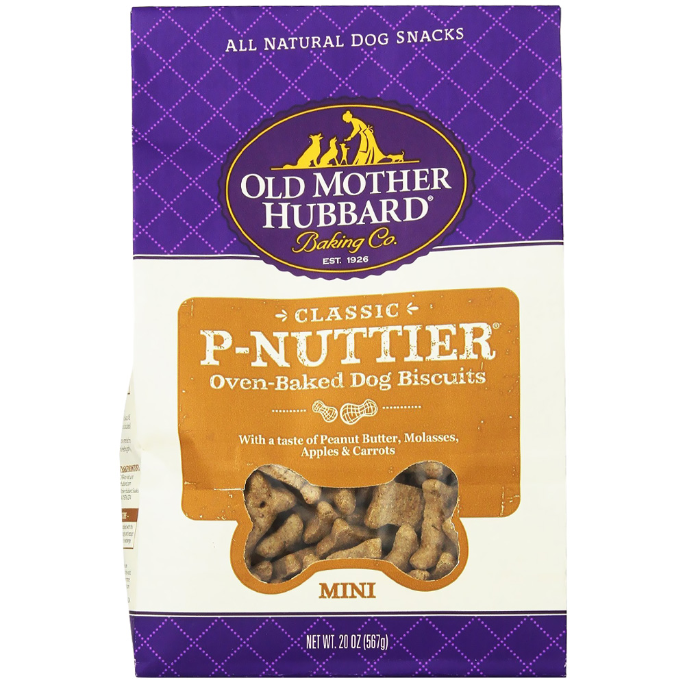 Old Mother Hubbard P-Nuttier Biscuits - Mini (20 oz) im test