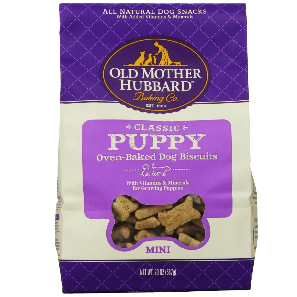 Old Mother Hubbard Puppy Biscuits - Mini (20 oz) im test