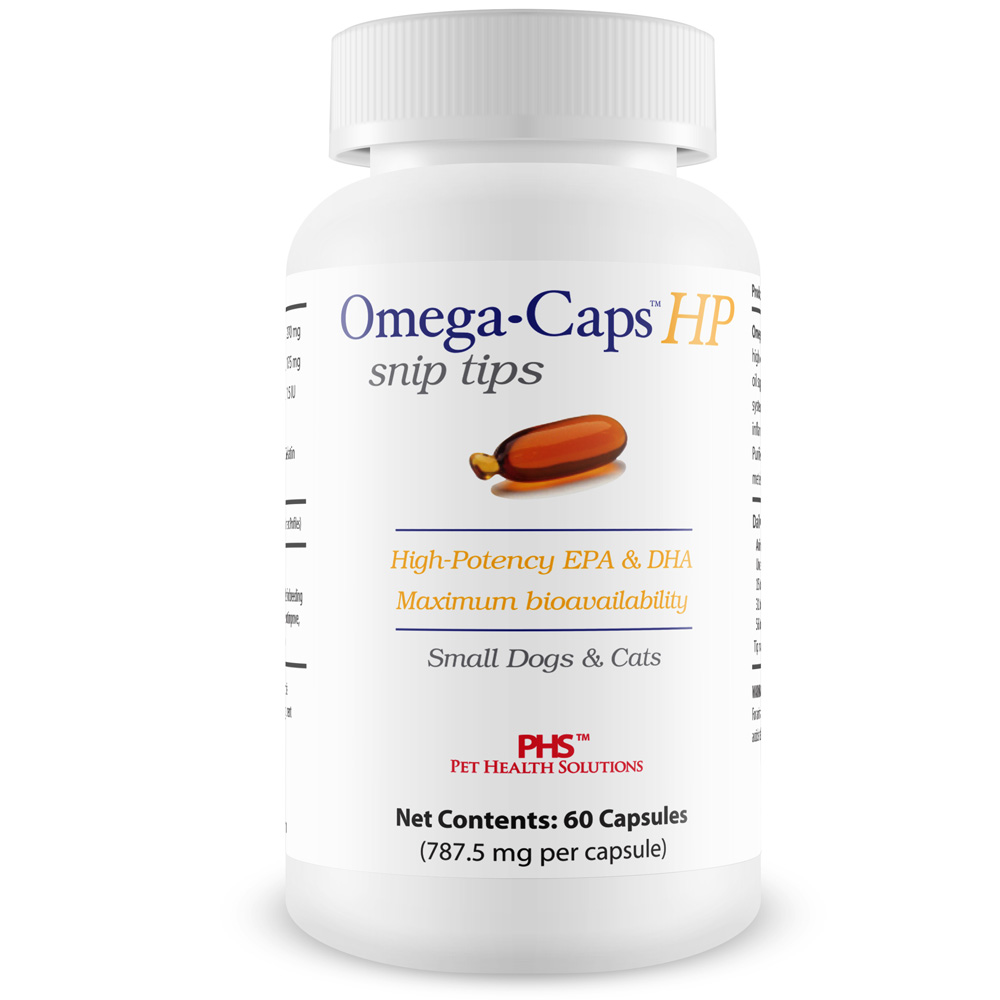 Omega-Caps HP snip tips for Cats & Smaller Dogs (60 Capsules) im test