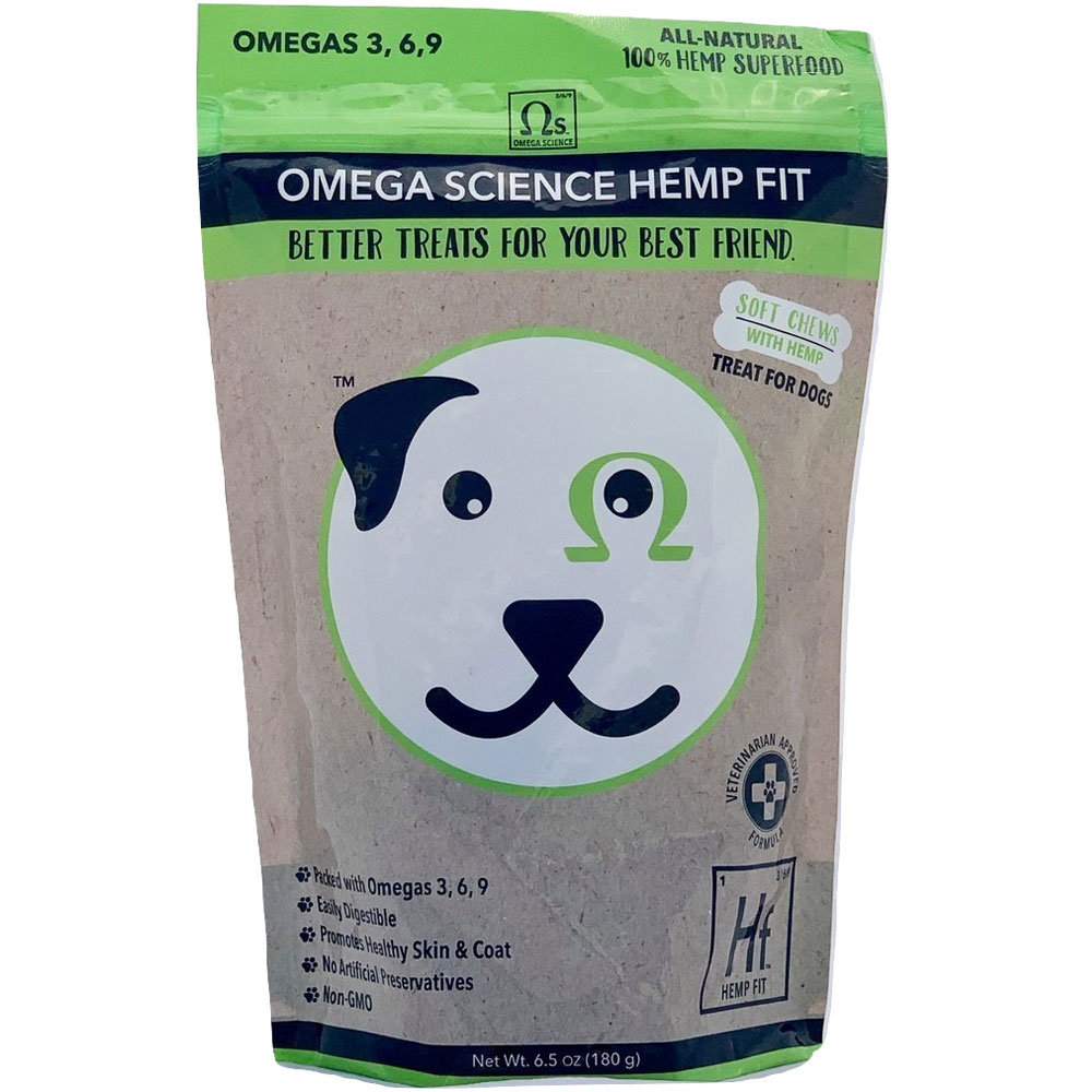 Omega Science Hemp Fit - 30 Chews (6.5 oz) im test