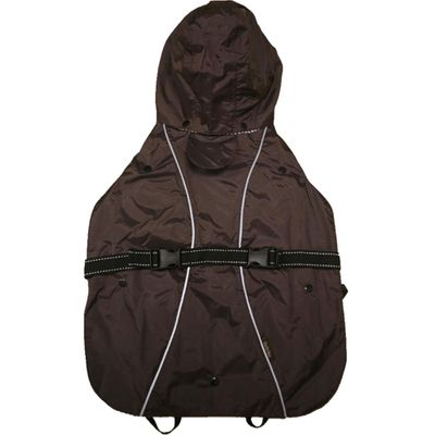"""One For Pets All-Weather Dog Coat - Brown 10"""""""
