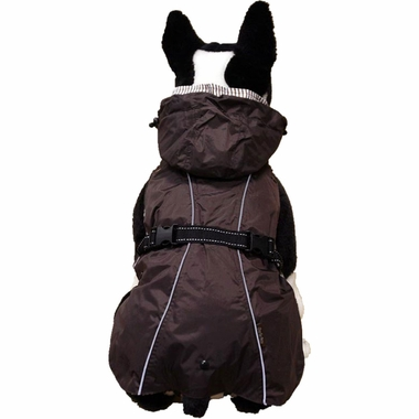 ONE4PETS-ALL-WEATHER-DOG-COAT-BROWN-18