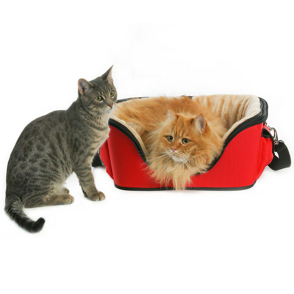 ONE4PETS-DELUXE-PET-CARRIER-RED-SMALL