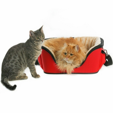ONE4PETS-DELUXE-PET-CARRIER-TAN-LARGE