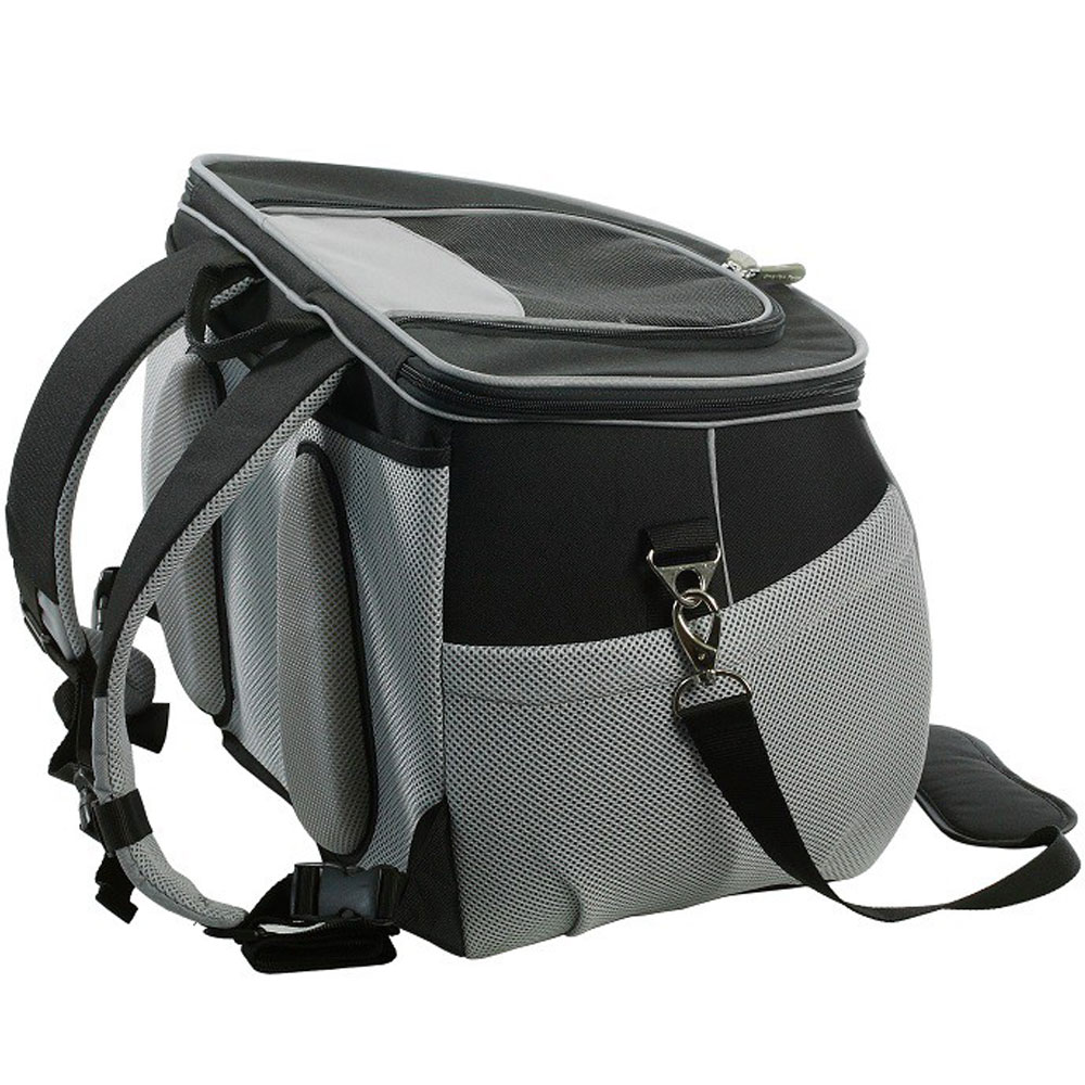 ONE4PETS-BACKPACK-PET-CARRIER-BLACK-SMALL