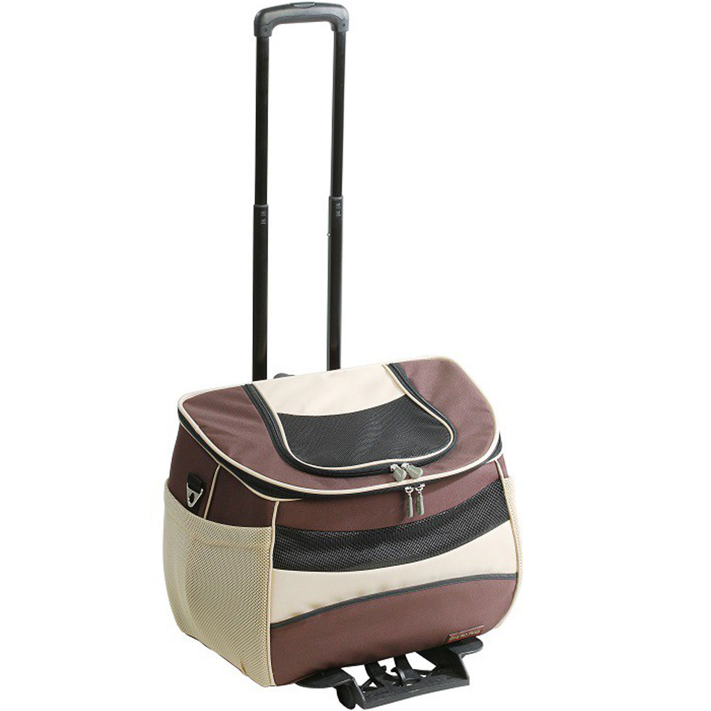 ONE4PETS-BACKPACK-PET-CARRIER-BROWN-SMALL