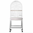 """Opening Dome Top Bird Cage - White (22""""x17""""x58"""")"""