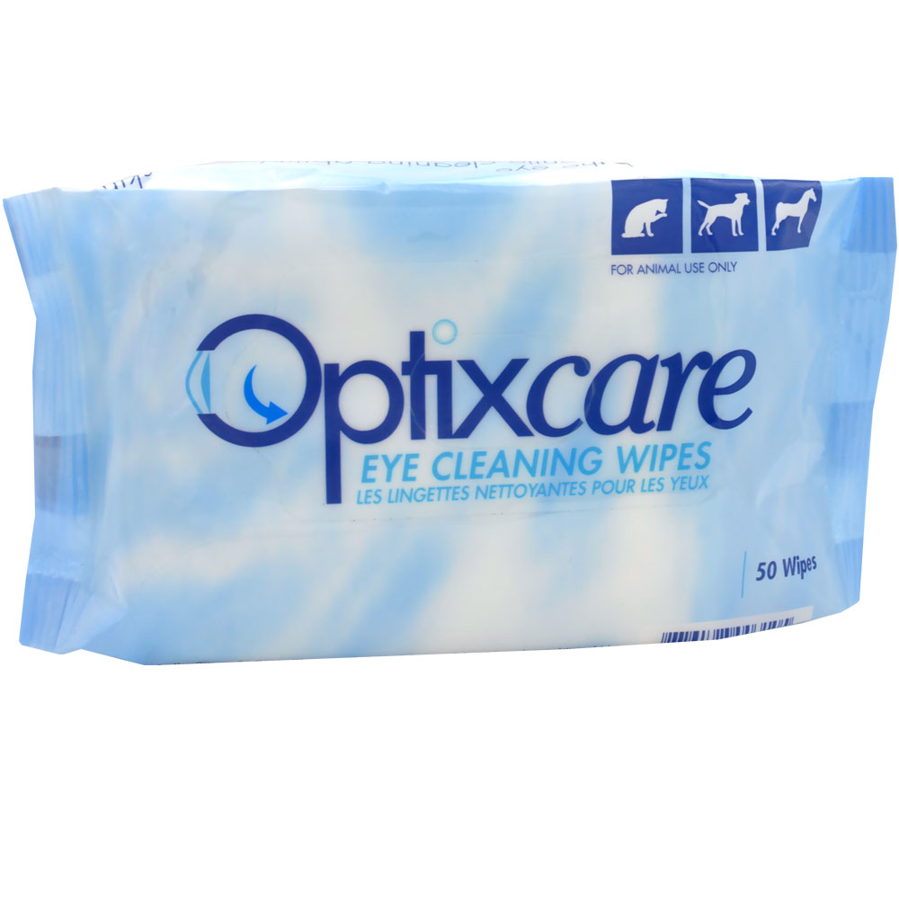 Image of Optixcare Eye Cleaning Wipes (50 count)