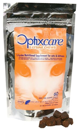 Optixcare L-Lysine for Cats