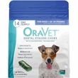 OraVet Dental Hygiene Chews - Small 10-24lbs (14 Count)