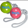 Planet Dog Orbee Tuff Fetch Ball w/ Rope - Assorted