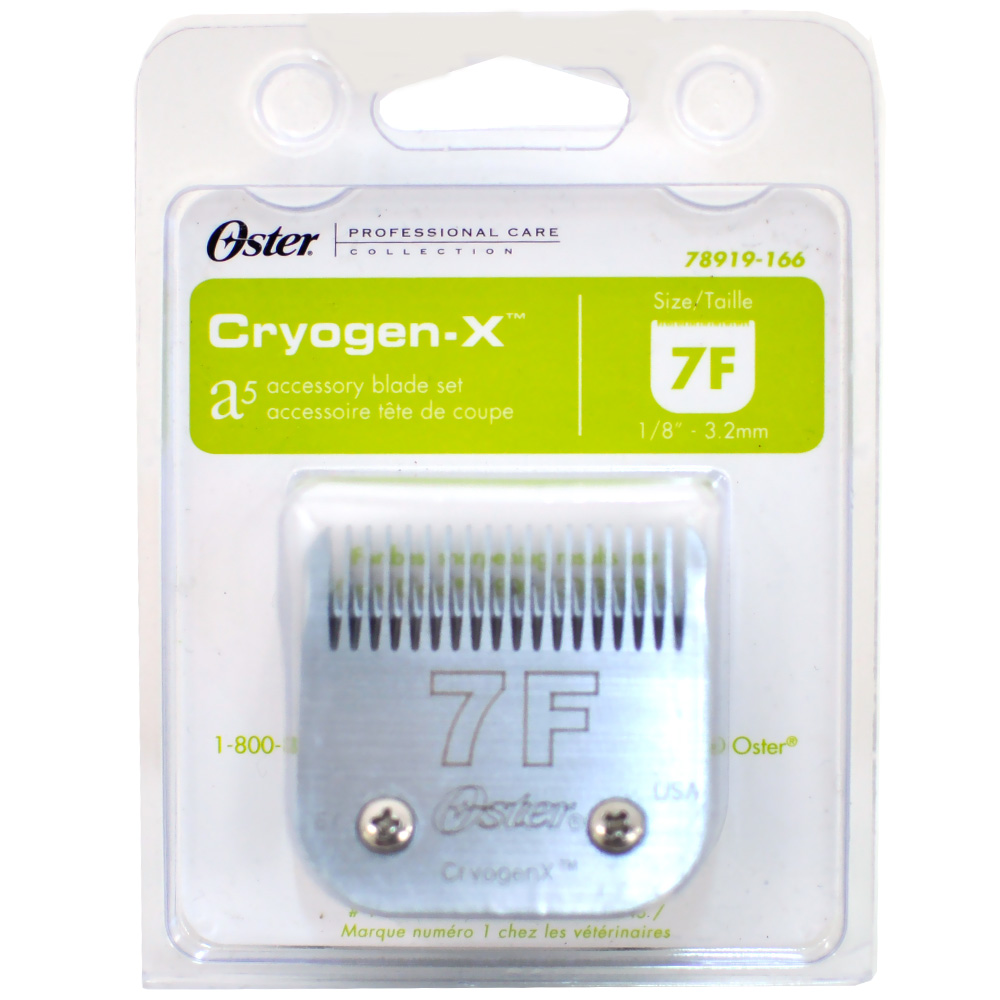 Oster Cryogen-X Blade Replacement - Size 7F im test