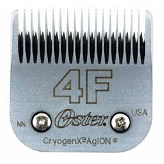 Oster® Size 4F Cryogen-X™ Blade w/AgION® Coating