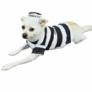 Otis and Claude Fetching Fashion Prison Pooch Costume - MEDIUM