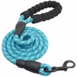 Otis & Claude Reflective Rope Leash - Blue