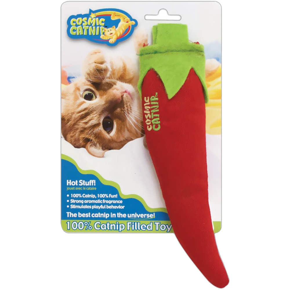 OurPets Cosmic Catnip Filled Toy - Hot Stuff im test