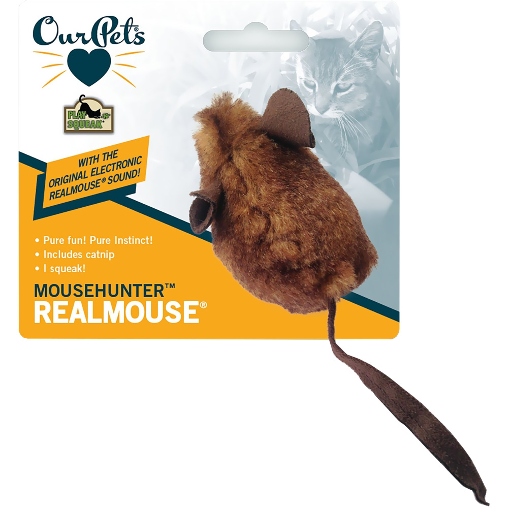 OurPets Play-N-Squeak Realmouse Cat Toy - Mousehunter im test