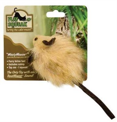 OURPETS-PLAY-N-SQUEAK-WOOLYMOUSE-CAT-TOY