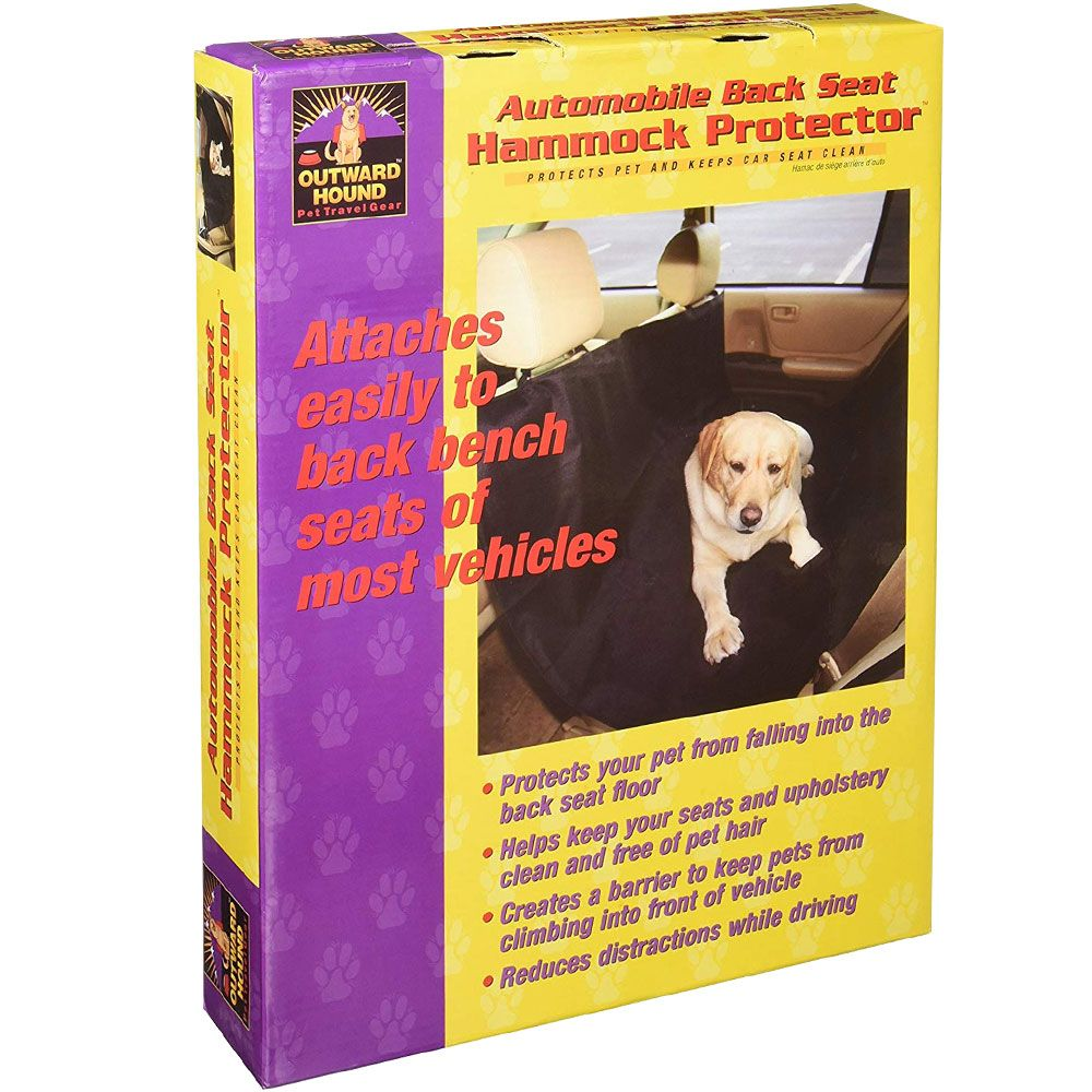 Outward Hound Automobile Back Seat Hammock Protector - For Dogs - from EntirelyPets