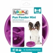 Outward Hound Fun Feeder Mini - Flower Purple