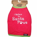 Outward Hound - I believe In Santa Paws Sassy Tee's - XSmall